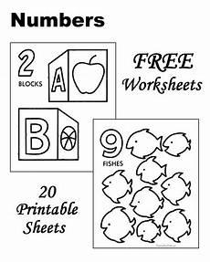 number worksheets toddlers preschool and kindergarten