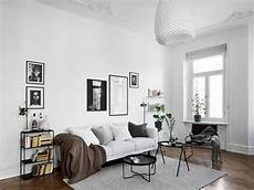 wohnen skandinavisch black and white scandinavian living room living room