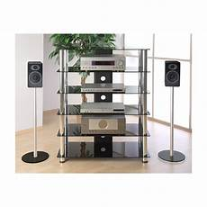 hifi rack glas stilista tv rack schrank st 228 nder m 246 bel regal hifi audio