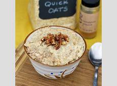 cinnamon sugar oatmeal_image