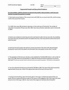 how to solve exponential growth and decay word problems how to solve word problems involving