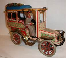 early 1900 s richter co german tin clockwork limousine