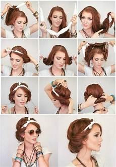 Einfache Frisuren Mit Haarband - 1001 inspirierende ideen f 252 r coole bandana frisuren