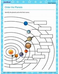 4th grade space science worksheets 13406 order the planets solar system worksheets for with images solar system worksheets