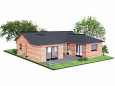 plan maison ossature bois plan de maison ossature bois gratuit id 233 es de travaux