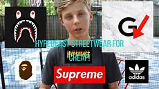 supreme buy how to buy hyped streetwear for cheap supreme bape
