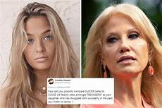 kellyanne conway s daughter claudia says she s been