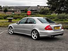 mercedes w211 e55 amg on cls wheels benztuning
