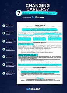 changing careers 7 details to include your resume