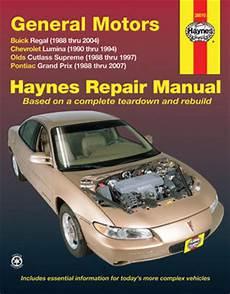 manual repair free 1997 oldsmobile cutlass navigation system buick regal chevrolet lumina olds cutlass supreme pontiac grand prix haynes repair manual