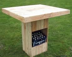 Gartentisch Selber Bauen Rustikal Mit Garten Bar Freshouse