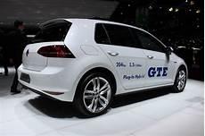 Volkswagen Golf Gte In Hybrid Live Photos From Geneva