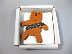 authentic hermes vip berlin 2011 teddy key chain