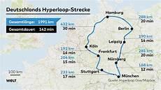 Hyperloop So K 246 Nnte Die Erste Deutsche Strecke Aussehen