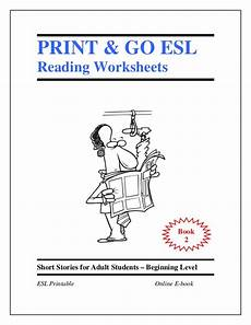 esl worksheets book 2 short stories for adult students