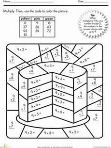 free color by number math worksheets multiplication 16320 fraction equivalent fractions math printables literacy visual effects