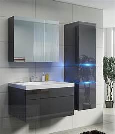 Badezimmermöbel Grau Hochglanz - kaufexpert badm 246 bel set prestige 1 grau hochglanz