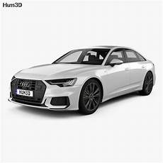 Audi A6 Sedan S Line 2018 3d Model Vehicles On Hum3d