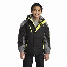 protection system boy s 3 in 1 winter jacket colorblock