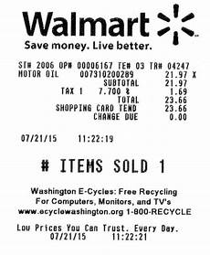 how to find out what was bought from walmart by looking at my receipt quora