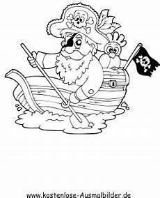 ausmalbilder pirat mit schiff piraten zum ausmalen