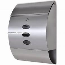 wandbriefkasten postkasten edelstahl briefkasten mit
