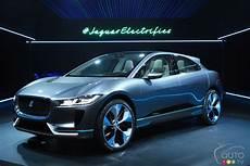 jaguar i pace 100 électrique le jaguar i pace concept 100 233 lectrique appara 238 t 224 l a actualit 233 s automobile auto123