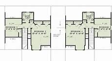 duplex dog house plans plan 60645nd craftsman duplex with breezeway in 2020