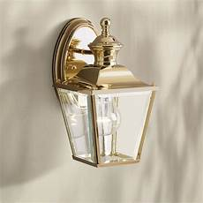 kichler solid brass carriage 10 high outdoor wall light kichler solid brass carriage 10 quot high outdoor wall light 62090 ls plus