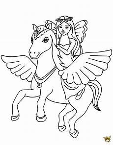 f 233 e cheval ail 233 est un coloriage de f 233 es pour filles