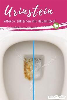 Urinstein Entfernen Hausreinigungs Tipps Hausmittel Und