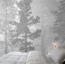 wandbilder grau weiss stockholm swedish trees painted mural images