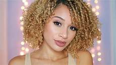 curly hair routine 2017 youtube