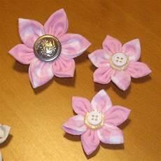 Blumen Aus Stoff Basteln - sternf 246 rmige kanzashi blumen basteln aus papier blumen
