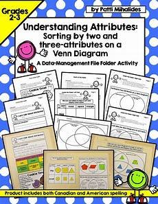 math worksheets sorting by attributes 7753 understanding attributes working with venn diagrams data management sorting activities 2nd