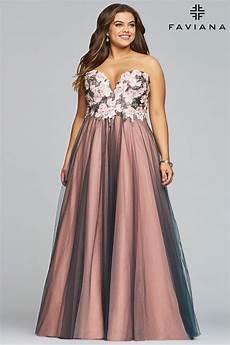 2019 faviana plus size prom dress 9467