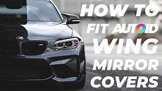 tutorial how to change wing mirror covers for bmw m2 1 2 3 4 series youtube