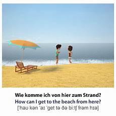 Malvorlagen Urlaub Strand Englisch Vokabelkarte Englisch Wie Komme Ich Hier Zum Strand