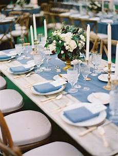 table top decor dusty blue natural dining table