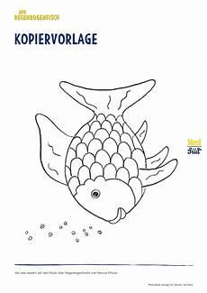 Malvorlage Fisch A4 Rbf Kopiervorlage Jpg 2 480 215 3 508 Pixel Regenbogenfisch