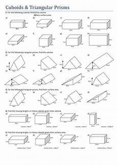 maths cuboids and triangular prisms by tristanjones