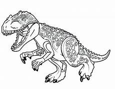 Ausmalbilder Dinosaurier Lego Lego Dinosaur Coloring Pages At Getcolorings Free