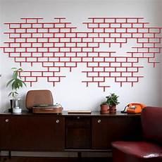 decoration murale design briq d 233 coration murale clipsable 4 couleurs briq