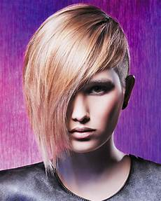 asymmetrical side undercut short hairstyles 2019 hair colors