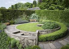 york gate garden near leeds photo by whitaker via perennial org uk courtyard