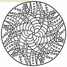 Ausmalbilder Einfache Mandalas Mandala Ausmalbilder Coloringpages321 Geometric