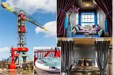 Kran Hotel Amsterdam - take a sneak peek inside the hotel that s built in a crane