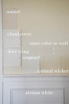 the enchanted home paint colors sonnet by bm is a soft white with taupe undertones looks good