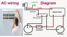 air conditioning circuit diagram bangladeshi maintenance work in dubai youtube