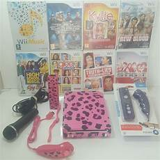 wii 2 console custom wii console 2 player bundle for pink remotes